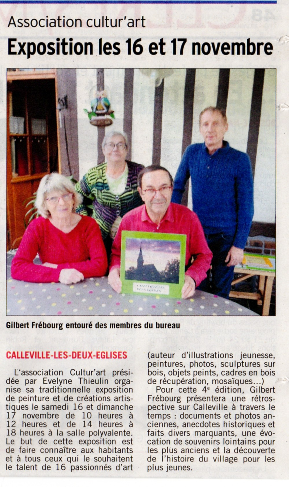Courrier Cauchois 1-11-2019