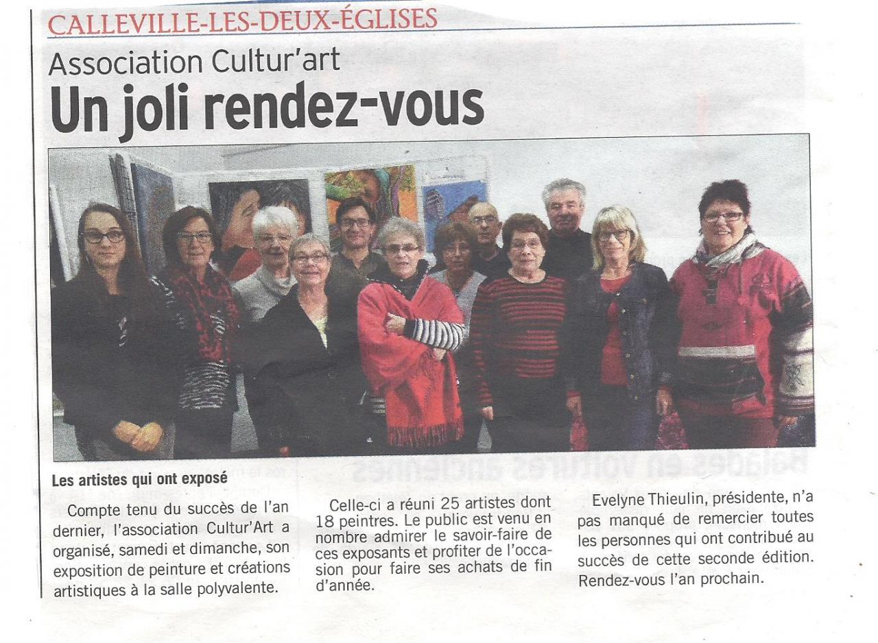 Cultur'Art 2016 (courrier cauchois)